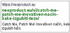https://neoproduct.eu/si/catch-me-patch-me-inovativen-nacin-kako-izgubiti-tezo/